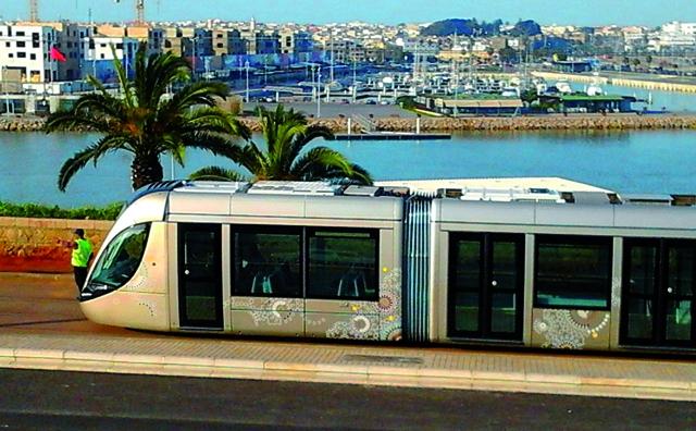 Un acte de vandalisme provoque un arrêt d environ 4 heures du Tramway de Rabat-Salé