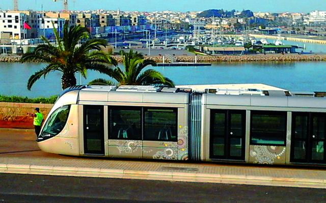 intemp ries perturbation de la circulation du tramway rabat aujourd 39 hui le maroc. Black Bedroom Furniture Sets. Home Design Ideas