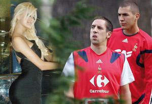Ribéry et Benzema mis en examen dans l'affaire Zahia