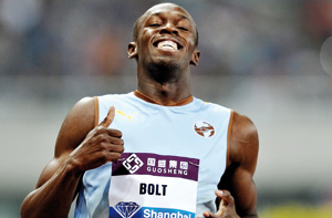 Usain Bolt déroule encore