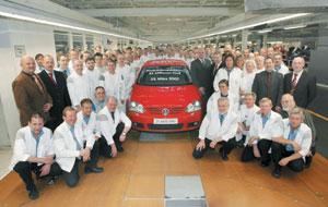 Volkswagen : production de la 25 millionième Golf