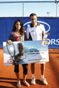 Roudami et Rochdi iront à Melbourne pour la finale