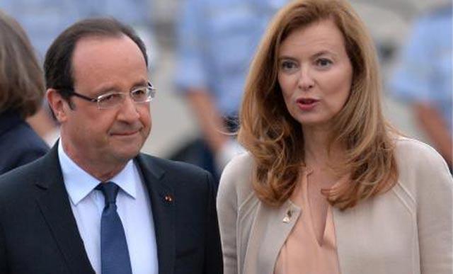 France: Valérie Trierweiler hospitalisée après la révélation d une liaison de François Hollande