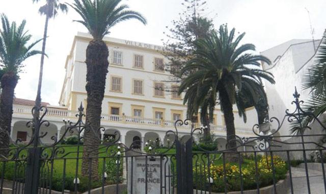 Tanger : Bientôt la réouverture du Grand hôtel Villa de France