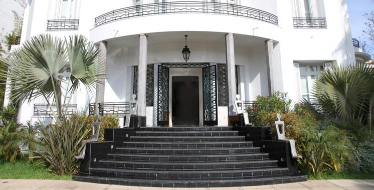 Spectacle de danse «L'kaâda»  à la Villa des arts de Casablanca