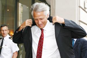 Dominique de Villepin prépare sa charge contre Sarkozy