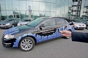 Volkswagen Park Assist Vision : Le stationnement commandé à distance