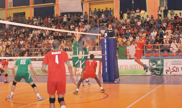 Volley-ball : Le Maroc à l assaut de la Tunisie