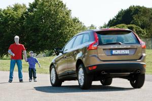 Volvo : Un freinage qui détecte les piétons