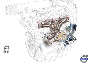 Moteur Volvo 2.0 GTDi : Dowsizing à la suédoise