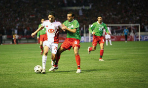Le Wydad écrase le club jordanien d'Al Wihdat
