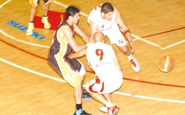 Finale aller du championnat de Basket-ball