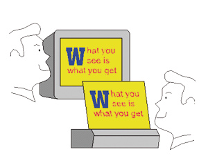 Qu'est-ce qu'un …Wysiwyg ?