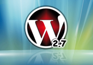 WordPress 2.7 est disponible
