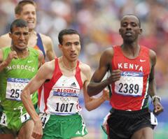 Parcours : Baba dépassé par le tempo de la finale du 1500m