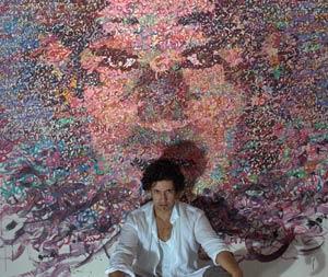 Zakaria Ramhani, l'enfant prodige de l'art plastique à l'Atelier 21
