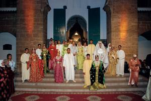 Des noces grandioses pour treize couples de Derb Soltane