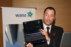 Wana veut se confirmer dans l'Internet 3G