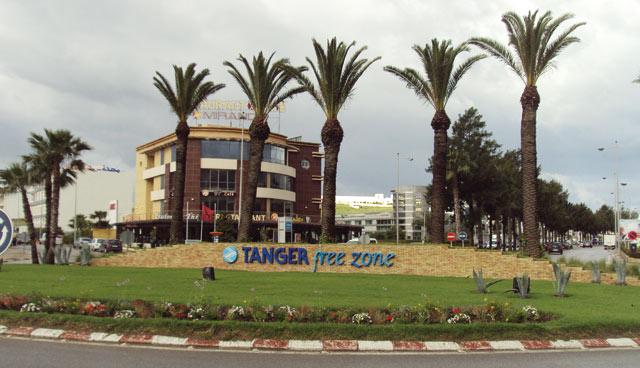 La zone franche de Tanger,  la meilleure en Afrique en 2015