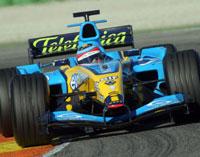 Renault , bien parti pour le titre 2005