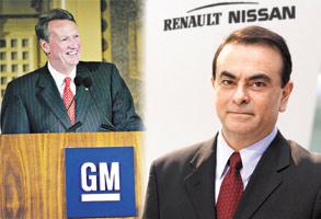 Automobile : Renault, Nissan et GM : vers un mariage à trois