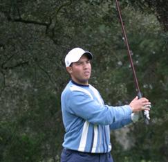 Golf : Sabi sur le podium
