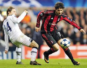 Tottenham-AC Milan : Une première pour les «Spurs»