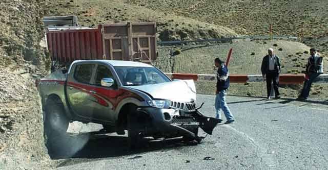 Cinq morts et deux blessés graves dans un accident de la route près de Khénifra