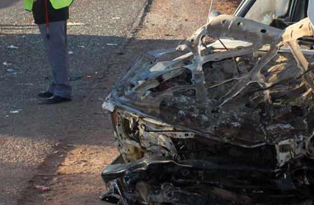 Décès de 2 personnes dans un accident de la route entre Ben Guerir et Marrakech