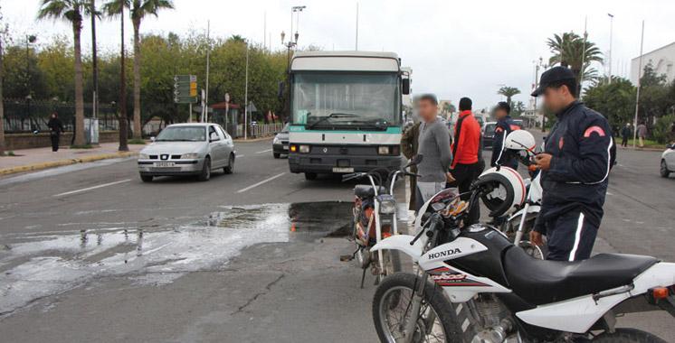 Accidents de la circulation : 17 morts et 1.486 blessés la semaine dernière
