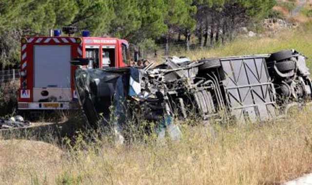 France : Une Marocaine tuée dans un accident de car près de Dijon