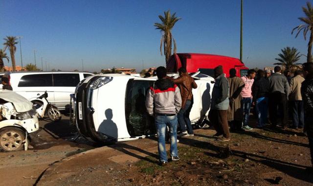 Deux touristes allemands trouvent la mort dans un accident de la circulation à Marrakech