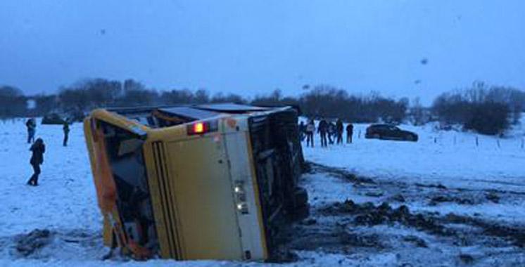 France : un accident de bus scolaire fait 2 morts et 4 blessés