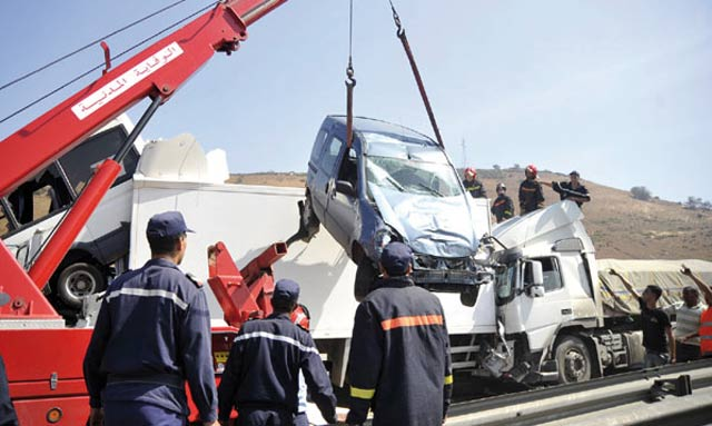 Maroc/Accidents : Baisse de 9,25% des morts à fin octobre 2013