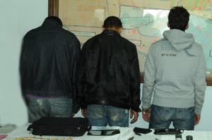 Arrestation d'un trio de malfaiteurs à Moulay Rachid