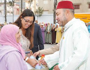 Activités royales : SM le Roi lance à Témara l'opération «Ramadan 1432»