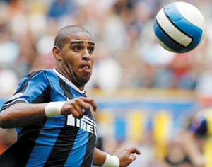 Ligue des champions : Le Brésilien Adriano écarté de l'épreuve