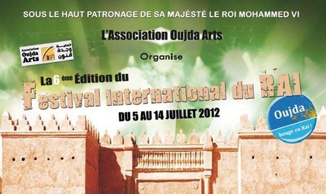 Oujda s apprête à accueillir la 6ème édition du festival du raï
