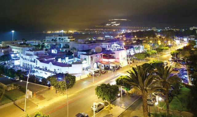 Les Russes débarquent à Agadir