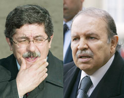 Bouteflika punit son Premier ministre