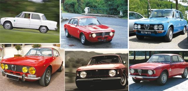 Il était une fois…, Alfa Romeo Giulia : Les 50 ans de la belle italienne