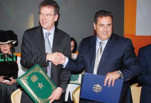 Coopération dans la sécurité alimentaire entre le Maroc et l'Allemagne