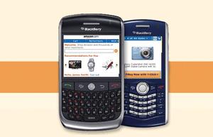 Amazon sort une déclinaison de l'application Kindle pour BlackBerry