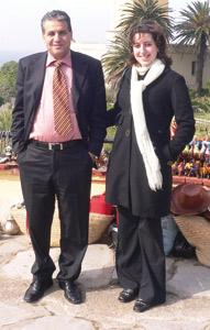 Abdessamad Ben Cherif et Amina Afaylal : «Ma femme Amina m'a toujours supporté»