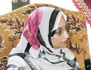 Aminatou Haidar indésirable en France
