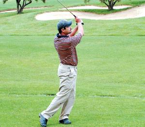 Golf : le retour d'Amine Joudar