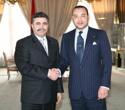 Peretz cherche la paix au Maroc