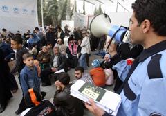 Irak : Les réfugiés palestiniens victimes de «mauvais traitements flagrants»