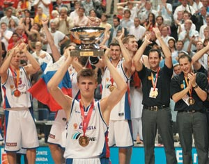 Basket-ball : Euro-2007 messieurs : Comme un roman russe