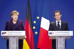 Zone euro : Controverse autour d'un pacte économique franco-allemand
